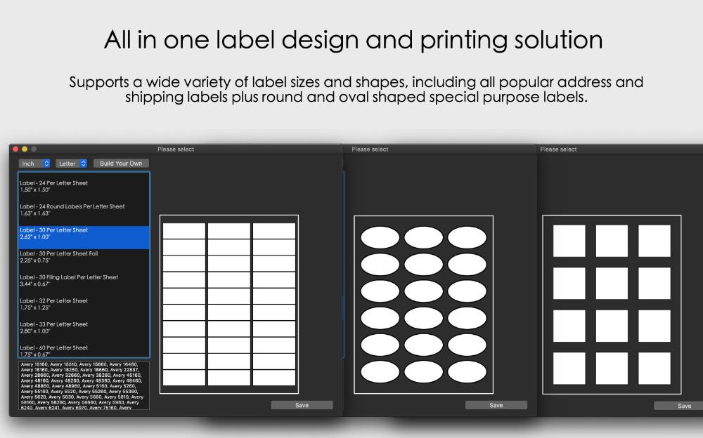 orion label maker for mac